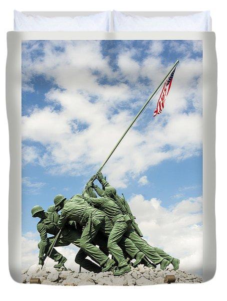 Iwo Jima Monument II Duvet Cover