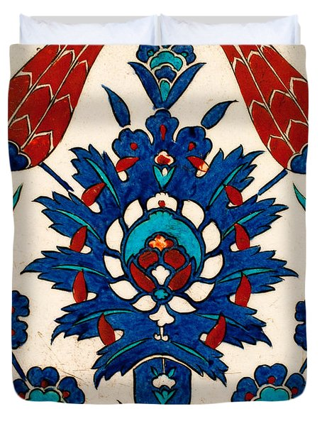 Iznik 03 Duvet Cover by Rick Piper Photography