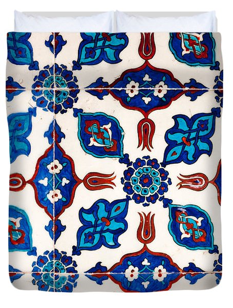 Iznik 16 Duvet Cover by Rick Piper Photography