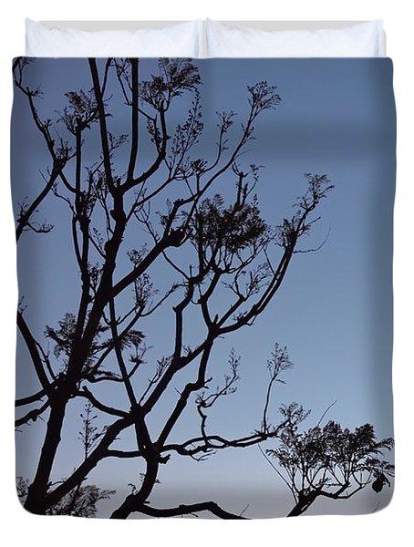 Jacaranda Sunset Duvet Cover
