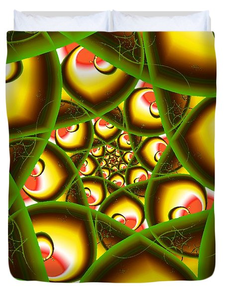 Jack And The Beanstalk Duvet Cover by Anastasiya Malakhova