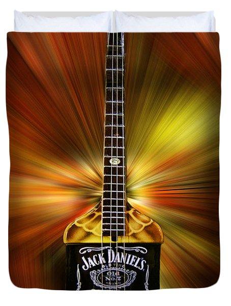 Jack Daniels Whiskey Guitar Duvet Cover