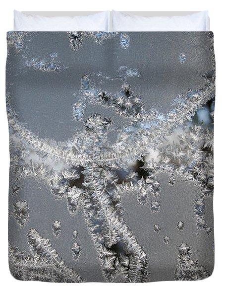Jack Frost's Victory Dance Duvet Cover