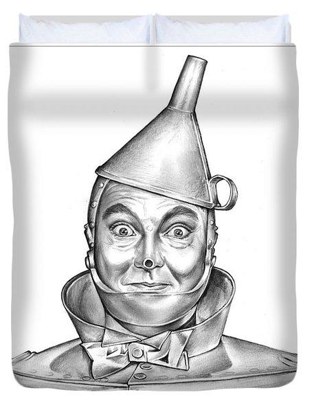 Jack Haley As The Tin Man Duvet Cover