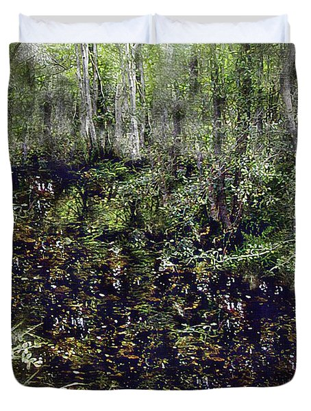Jack Kell's Woods Duvet Cover by RC DeWinter