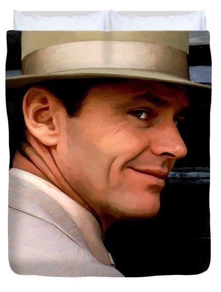 Jack Nicholson @ China Town Duvet Cover