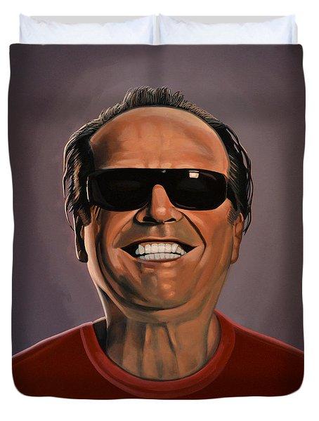Jack Nicholson 2 Duvet Cover