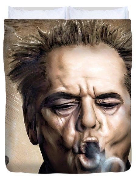 Jack Nicholson Duvet Cover