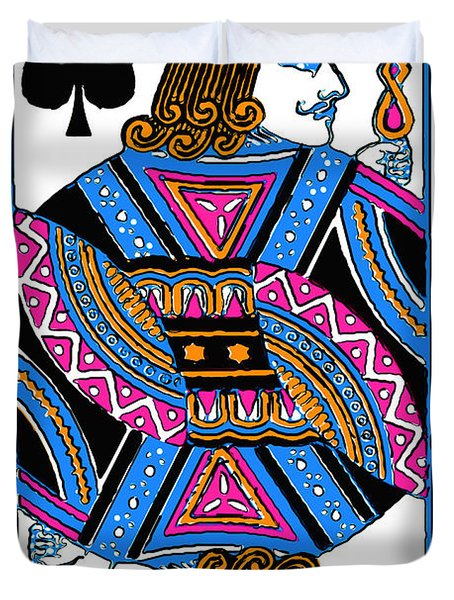 Jack Of Spades - V3 Duvet Cover