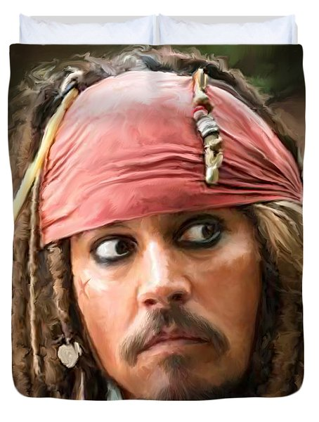 Jack Sparrow Duvet Cover