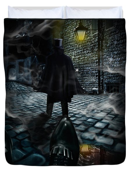 Jack The Ripper Duvet Cover