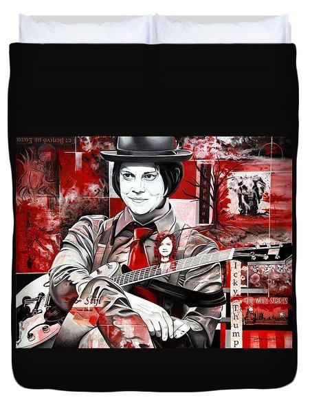 Jack White Duvet Cover