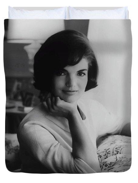 Jackie Kennedy  1961 Duvet Cover