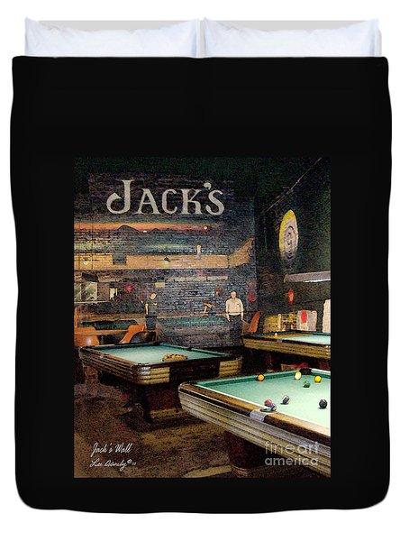Jack's Wall Duvet Cover