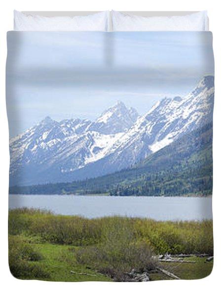Jackson Lake Duvet Cover