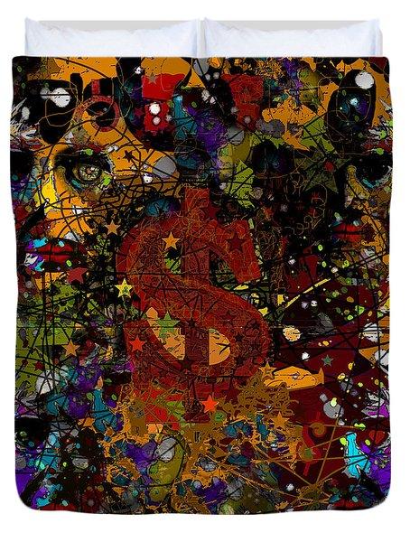 Jackson Warhol Me Duvet Cover