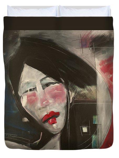 Jade Duvet Cover by Tim Nyberg