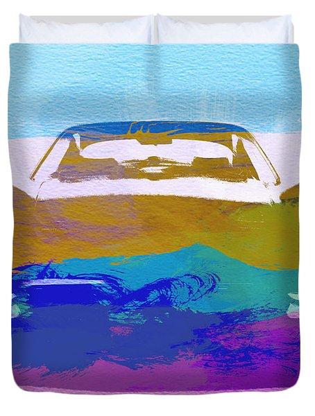 Jaguar E Type Front Duvet Cover
