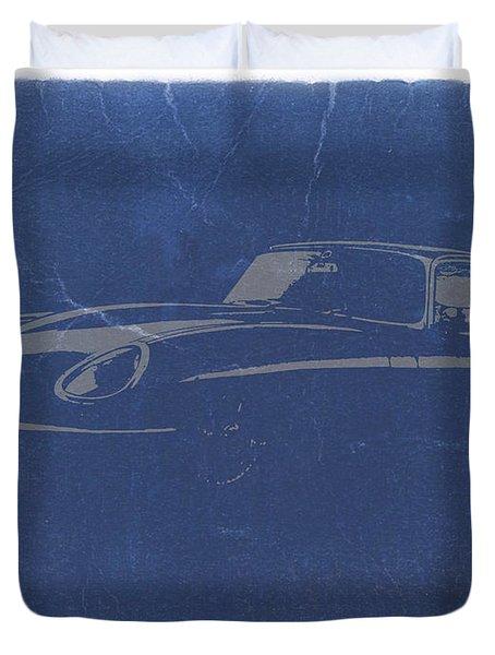 Jaguar E Type Duvet Cover