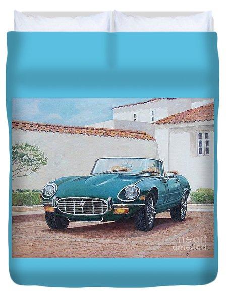 Jaguar Xke 1961-1975 Duvet Cover