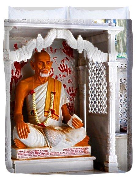 Jain Idol Duvet Cover