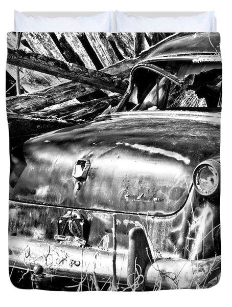 Jalopy For Rent Duvet Cover