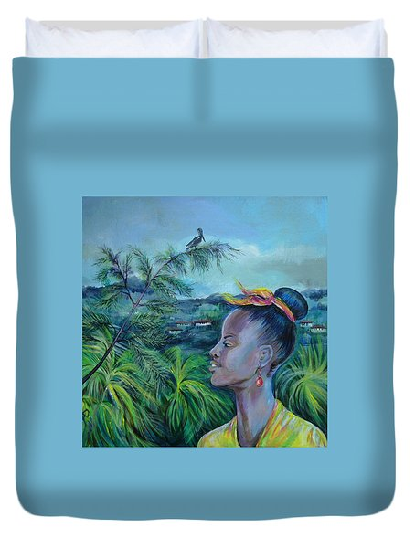 Jamaica. Part Two Duvet Cover by Anna  Duyunova