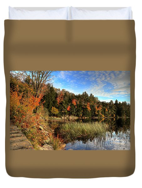Jamies Pond 2 Duvet Cover