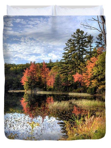 Jamie's Pond Duvet Cover