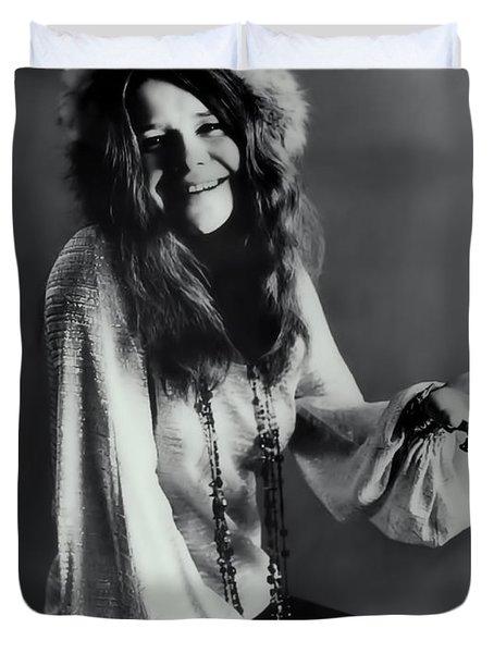 Janis Joplin Duvet Cover