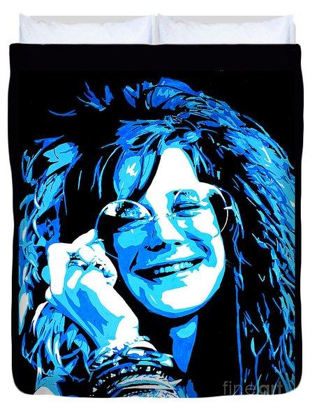 Janis Joplin. Duvet Cover