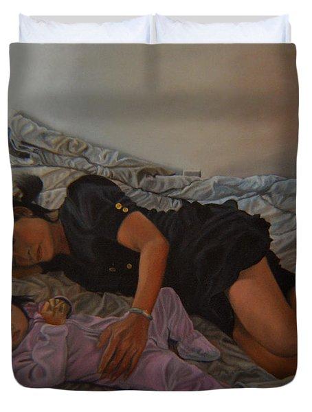 January Afternoon Mukilteo Washington Duvet Cover by Thu Nguyen