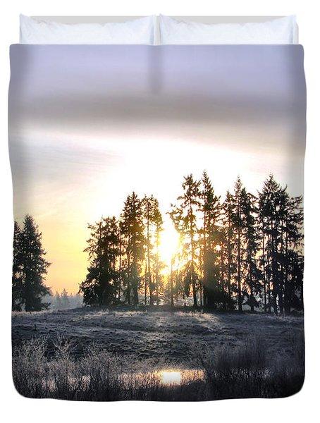 January Morning Duvet Cover by Rory Sagner
