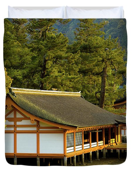 Japan Itsukushima Duvet Cover