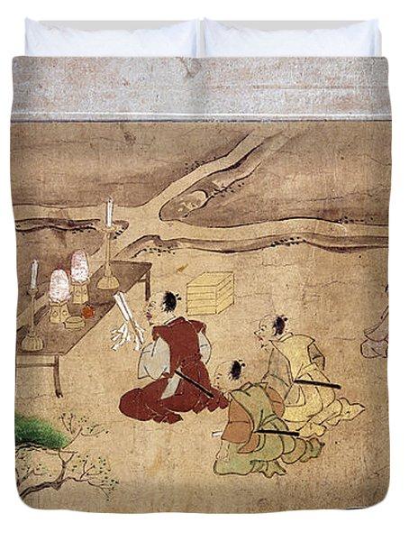 Japan Shinto Ritual Duvet Cover
