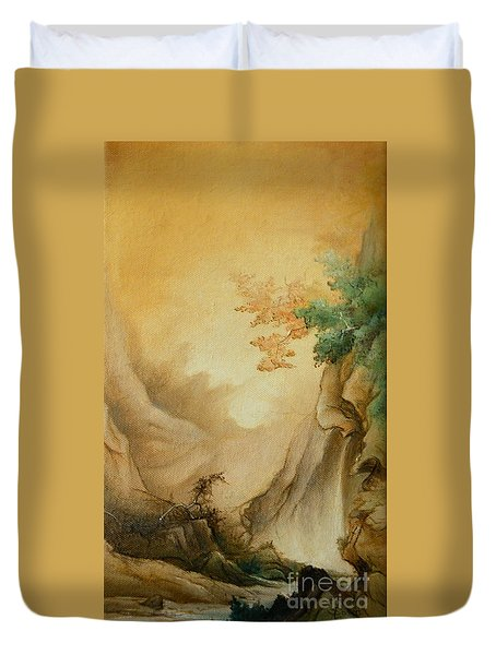 Japanese Autumn Duvet Cover