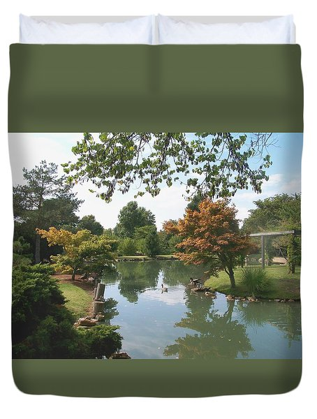 Japanese Gardens 2 Duvet Cover