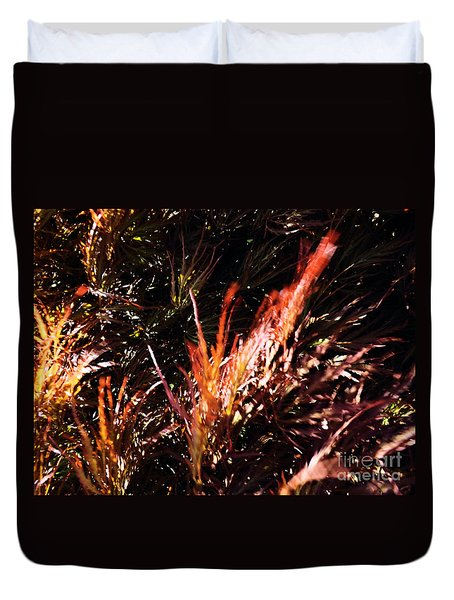 Duvet Cover featuring the photograph Japanese Maple by Robyn King