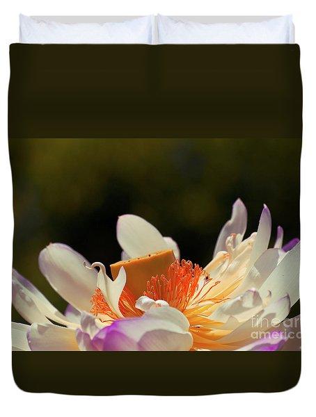 Japenese Jewel Duvet Cover by Aimelle