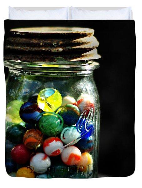 Jar Full Of Sunshine Duvet Cover