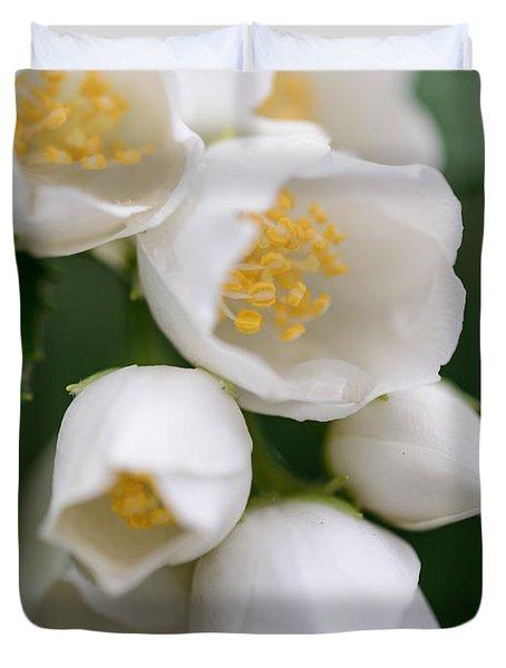 Jasmin Flowers Duvet Cover