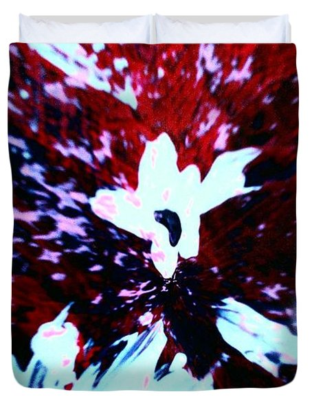 Duvet Cover featuring the painting Jasmine In My Mind  by Jacqueline McReynolds