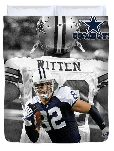 Jason Witten Cowboys Duvet Cover