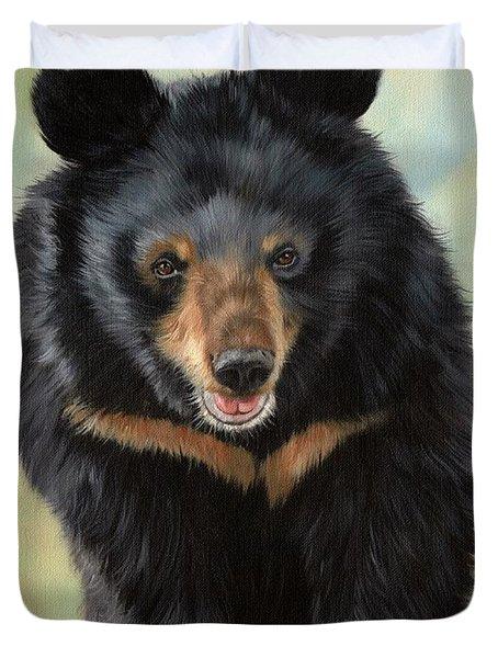 Jasper Moon Bear - In Support Of Animals Asia Duvet Cover