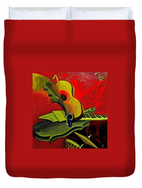 Jazz Infusion Duvet Cover