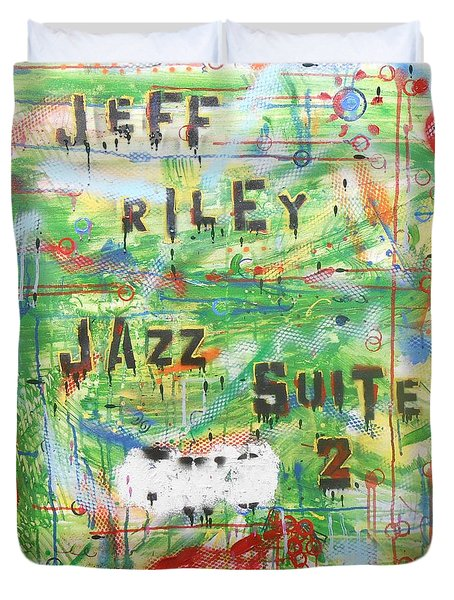 Jeff Riley Jazz Suite 2 Duvet Cover