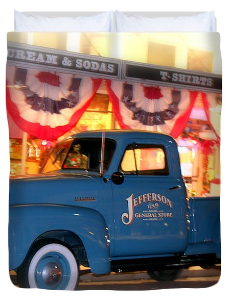 Jefferson General Store 51 Chevy Pickup Duvet Cover