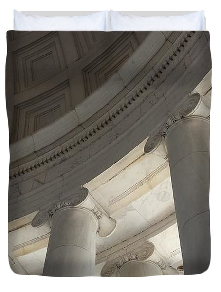 Jefferson Memorial Architecture Duvet Cover