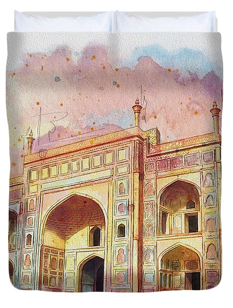 Jehangir Form Duvet Cover by Catf