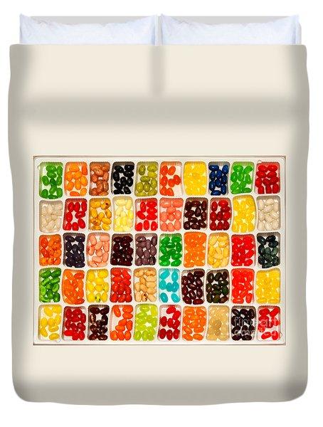 Jelly Beans Duvet Cover by Anne Kitzman